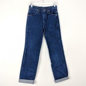 Vintage Men's Wrangler Straight Leg Jeans 28x32